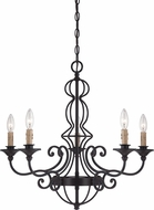 Designers Fountain 85585-NI Tangier Natural Iron Pendant Lighting Fixture