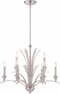 Designers Fountain 85789-SP Grand Plazza Satin Platinum Ceiling Chandelier
