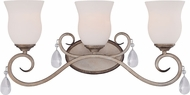 Designers Fountain 86003-ARS Gala Argent Silver 3-Light Bath Sconce