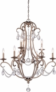 Designers Fountain 86089-ARS Gala Argent Silver Chandelier Lighting