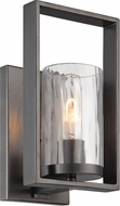 Designers Fountain 86501-CHA Elements Modern Charcoal Wall Light Fixture