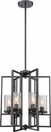 Designers Fountain 86556-CHA Elements Contemporary Charcoal Foyer Lighting