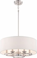 Designers Fountain 86631-SP Omega Contemporary Satin Platinum Pendant Light