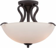 Designers Fountain 86711-ORB Galena Oil Rubbed Bronze Overhead Light Fixture