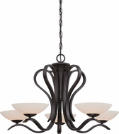 Designers Fountain 86785-ORB Galena Oil Rubbed Bronze Halogen Chandelier Light