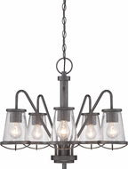 Designers Fountain 87085-WI Darby Weathered Iron Chandelier Light