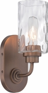 Designers Fountain 87101-OSB Gramercy Park Old Satin Brass Wall Sconce Light