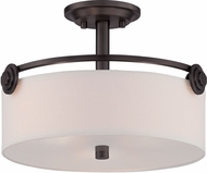 Designers Fountain 87111-OEB Gramercy Park Old English Bronze Ceiling Light Fixture