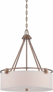 Designers Fountain 87131-OSB Gramercy Park Old Satin Brass Ceiling Light Pendant