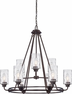 Designers Fountain 87189-OEB Gramercy Park Old English Bronze Lighting Chandelier