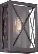 Designers Fountain 87301-SB High Line Satin Bronze Wall Lamp