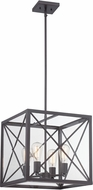 Designers Fountain 87331-SB High Line Satin Bronze Drop Lighting Fixture