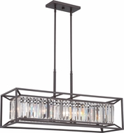 Designers Fountain 87438-VB Linares Modern Vintage Bronze Island Light Fixture