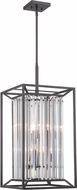 Designers Fountain 87454-VB Linares Modern Vintage Bronze Foyer Lighting
