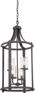 Designers Fountain 87554-APW Palencia Artisan Pardo Wash Foyer Light Fixture
