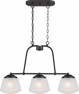 Designers Fountain 87738-SB Mason Satin Bronze Island Lighting