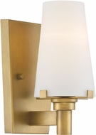 Designers Fountain 87901-VTG Hyde Park Contemporary Vintage Gold Lamp Sconce