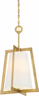 Designers Fountain 87953-VTG Hyde Park Contemporary Vintage Gold 16  Foyer Light Fixture