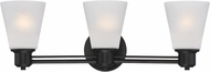 Designers Fountain 88003-ORB Printers Row Oil Rubbed Bronze 3-Light Bathroom Light Sconce