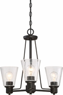 Designers Fountain 88083-ORB Printers Row Oil Rubbed Bronze Mini Chandelier Lighting