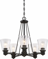 Designers Fountain 88085-ORB Printers Row Oil Rubbed Bronze Chandelier Lamp