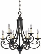 Designers Fountain 9039-NI Barcelona Natural Iron Chandelier Light