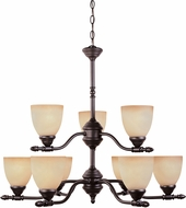 Designers Fountain 94089-ORB Apollo Oil Rubbed Bronze Ceiling Chandelier