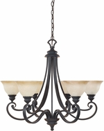 Designers Fountain 96186-NI Barcelona Natural Iron Ceiling Chandelier