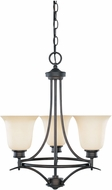 Designers Fountain 96983-ORB Montego Oil Rubbed Bronze Mini Chandelier Lighting