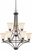 Designers Fountain 96989-ORB Montego Oil Rubbed Bronze Ceiling Chandelier