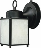 Designers Fountain ES1161-BK Basic Porch Black Fluorescent Exterior Lighting Sconce