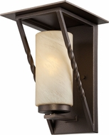 Designers Fountain ES31931-FBZ Parkview Flemish Bronze Fluorescent Outdoor Wall Sconce