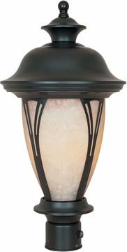 Designers Fountain FL30536-AM-BZ Westchester Bronze Fluorescent Outdoor Post Light