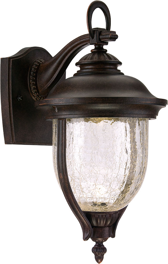 Led Bronze Wall Sconces : Designers Fountain LED22121-MBZ Sheffield Mystic Bronze LED Exterior Wall Sconce - DSF-LED22121-MBZ