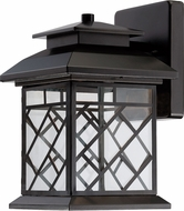 Designers Fountain LED22331-ORB Woodmere Oil Rubbed Bronze LED Exterior 9  Wall Lighting