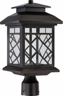 Designers Fountain LED22336-ORB Woodmere Oil Rubbed Bronze LED Outdoor Post Light Fixture