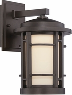 Designers Fountain LED22421-BNB Barrister Burnished Bronze LED Exterior 7  Sconce Lighting