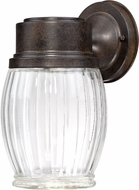 Designers Fountain LED32311-FSN Fulton Forged Sienna LED Outdoor Wall Lighting Fixture