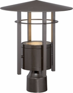 Designers Fountain LED34036-BNB Englewood Modern Burnished Bronze LED Exterior Lamp Post Light Fixture