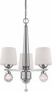 Designers Fountain LED85083-CH Astoria Contemporary Chrome Mini Hanging Chandelier