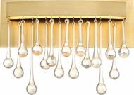 Designers Fountain LED88100-LXG Lucienne Modern Luxor Gold LED Wall Sconce Lighting