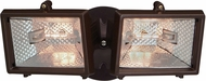 Designers Fountain Q152-87 Quartz Modern Distressed Bronze Halogen Exterior Motion Sensor Security Lighting Residential