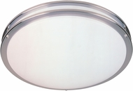 Designers Fountain S117MCFL-SN Round Satin Nickel Fluorescent 16  Flush Mount Light Fixture
