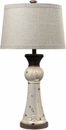 Dimond 113-1127 Lorraine Distressed Pearlescent / Rust Lighting Table Lamp