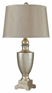 Dimond 113-1140 Elmira Antique Mercury Glass With Silver Finish 15 Wide Table Lighting