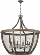 Dimond 1140-033 Renaissance Invention Weathered Zinc Chandelier Light