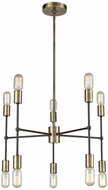 Dimond 1141-027 Up Down Century Modern Antique Brass Oil Rubbed Bronze Mini Chandelier Lamp