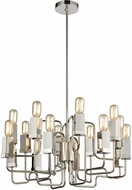 Dimond 1141-065 Symposium Contemporary Polished Nickel Chandelier Light