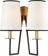 Dimond 1141-077 On Strand Contemporary Oiled Bronze With Gold Leaf Wall Sconce