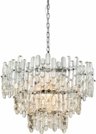 Dimond 1141-086 Icy Reception Modern Chrome With Clear Glass Chandelier Lighting